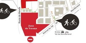 Nouveaux accès sur le Campus Paul Valéry