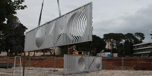 UPVM3 : Le portail Vasarely est déposé