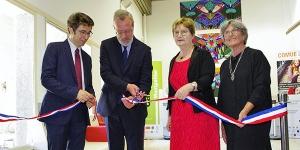 Inauguration des nouveaux locaux du service Accueil International Étudiants/Chercheurs de la ComUE LR-Universités